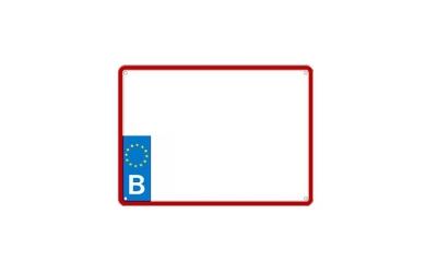 nouvelle plaque europ enne motos 210x140 plaques belges. Black Bedroom Furniture Sets. Home Design Ideas