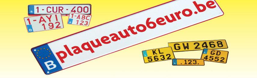 plaques immatriculation belges et luxembourgeoises partir de 6. Black Bedroom Furniture Sets. Home Design Ideas